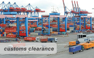 CUSTOMS CLEARANCE Iran